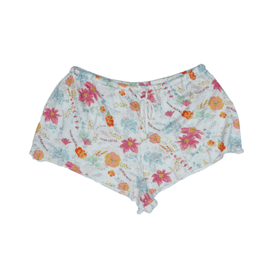 Honeydew Floral Print Lounge Shorts - VendaStores