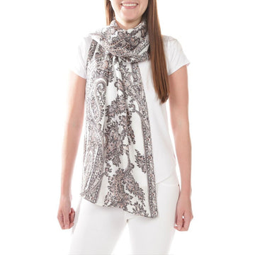 Echo New York Oblong Scarf Marshmallow ONE SIZE