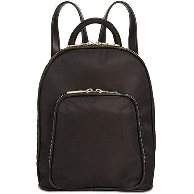 INC Farahh Nylon Black Backpack - VendaStores