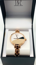 INC Women's Bracelet Watch 36mm Rose Gold
