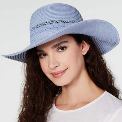 INC Lace-Insert Floppy Hat - VendaStores