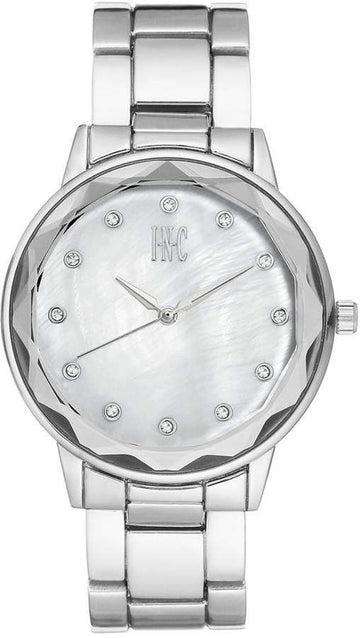 INC International Concepts Womens Bracelet Watch 36mm Silver