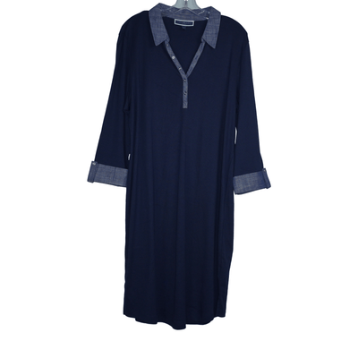 Karen Scott Plus Size Cotton Dress - VendaStores