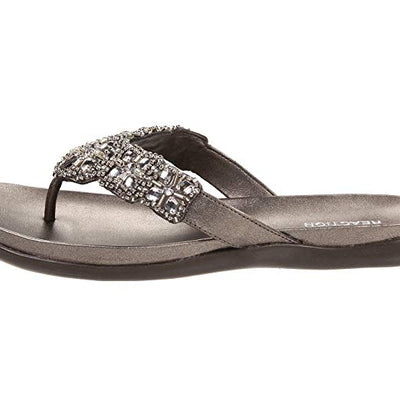 Kenneth Cole REACTION Glam-Athon Flat Sandals - VendaStores