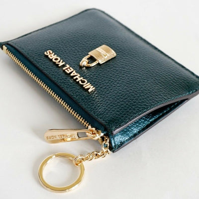 MICHAEL Michael Kors Adele Leather Small Coin Pouch - VendaStores