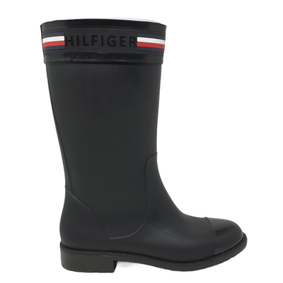 Tommy Hilfiger Womens Color Black, Size 7 Talisa Rain Boots MSRP $124.6 - VendaStores