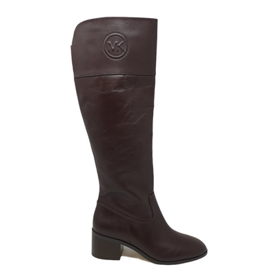 Michael Kors Womens Color Brown, Size 5.5 Dylyn Tall Boots, MSRP $315 - VendaStores