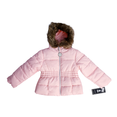 S. Rothschild Toddler Girls Size 3T Light Pink Slim Puffer JACKET , MSRP $97 - VendaStores