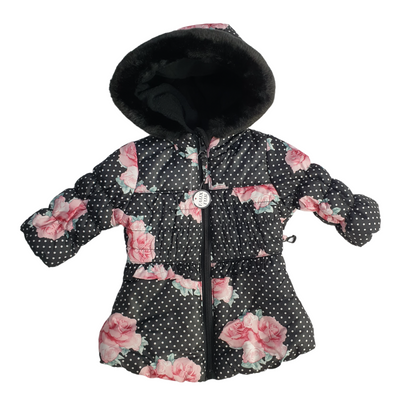 S. Rothschild Baby girls Size 3/6 MOS Flower Print Jacket, MSRP $97 - VendaStores