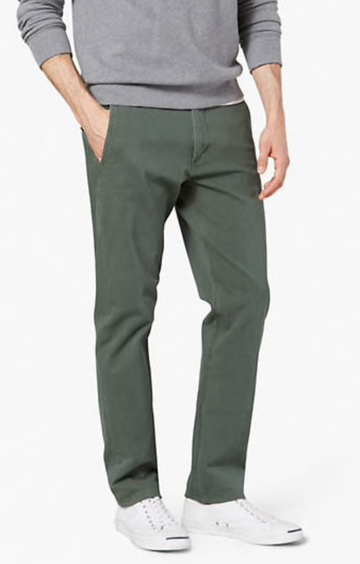 Dockers Alpha Khaki Pants Khaki in Dark Green