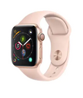Apple Watch Pink Sand Sport Strap With Rose Gold Pin (40mm)