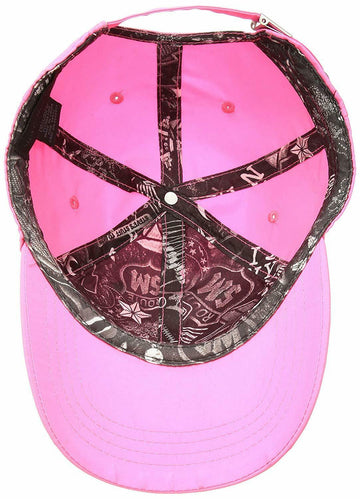 Steve Madden Classic Neon Baseball Cap Neon Pink ONE SIZE