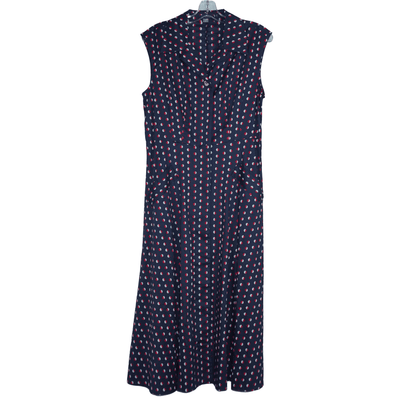Tommy Hilfiger Sleeveless Polka Dot Dress - VendaStores