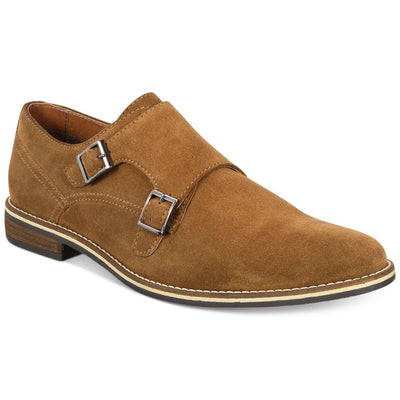 Alfani Men's Jacob Suede Monk-Strap Oxford Size 11 - VendaStores