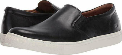 Florsheim Mens Sneakers Black Size 10.5 US  Verge Double Gore Slip-on - VendaStores
