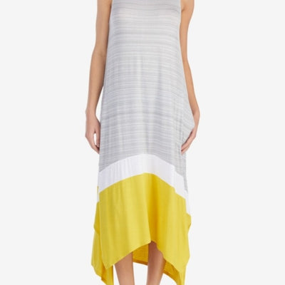 DKNY Sleeveless Contrast-Panel Nightgown - VendaStores