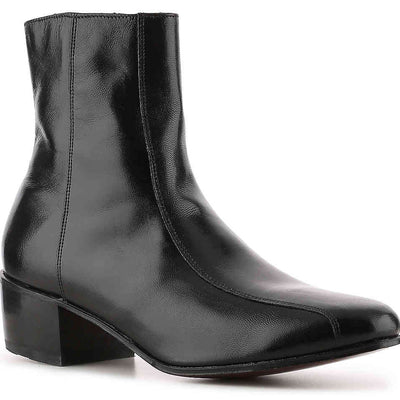 Florsheim Men's Size 9 Black Duke Bike Toe Zipper Boot, MSRP C$195 - VendaStores