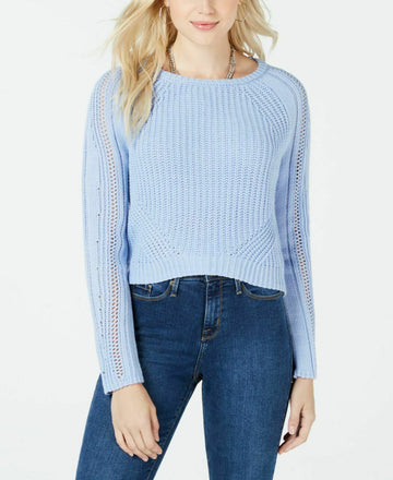 Freshman Juniors' Cropped Sweater