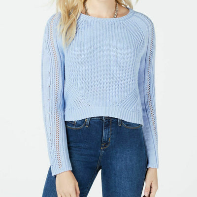 Freshman Juniors' Cropped Sweater - VendaStores