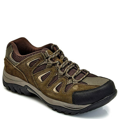 Weatherproof Vintage Mens Pathfinder Hiking Sneakers Brown/Taupe - VendaStores