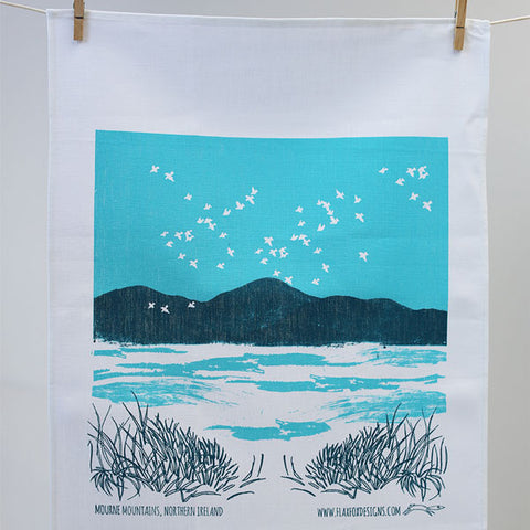Mourne Mountain Tea Towel