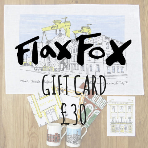 Picture of Flax Fox Gift Card