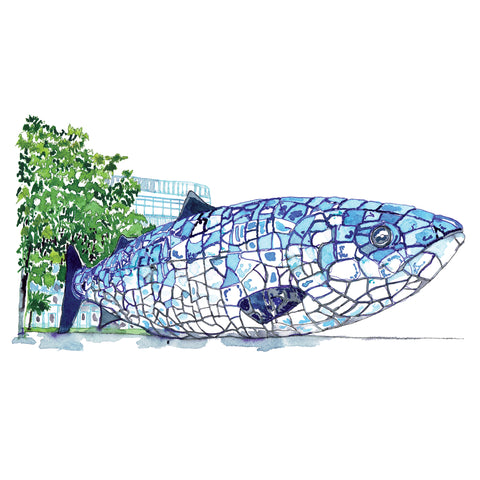 Picture of Big Blue Fish