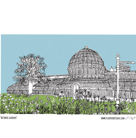 Picture of Botanic Gardens Giclée Print