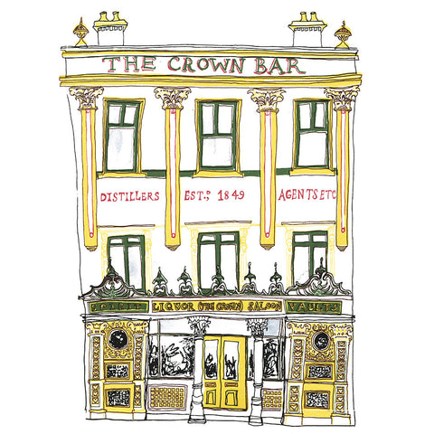 Picture of Crown Bar Giclée Print