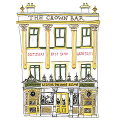 Crown Bar Giclée Print