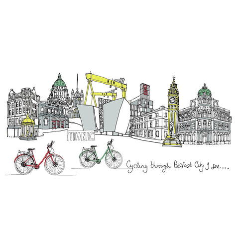 Picture of Cycling Through Belfast City I See....