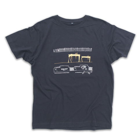 Picture of Belfast Cranes Illustrated T-Shirt