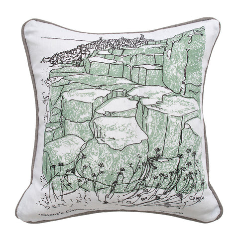 Picture of Giant's Causeway Illustrated Cushion Cover