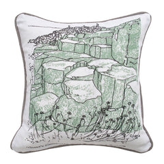 Giant's Causeway Illustrated Cushion Cover