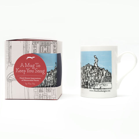 Picture of Giant's Causeway Belfast Illustrated Mug
