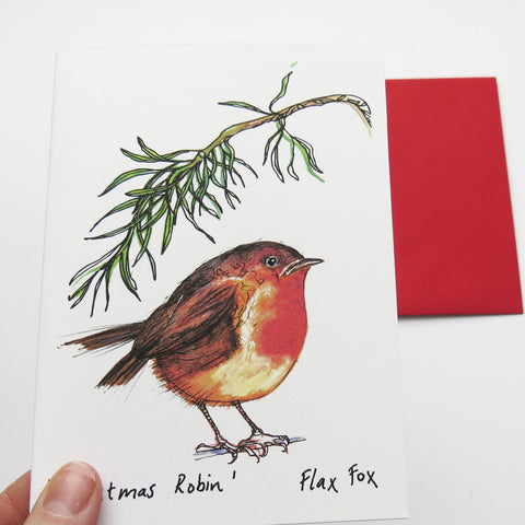 Picture of Robin Greeting Card