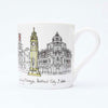 Belfast Skyline Fine Bone China Mug