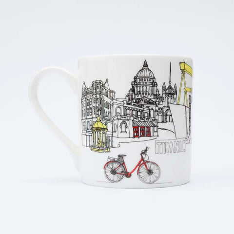 Picture of Belfast Skyline Fine Bone China Mug