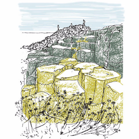Picture of Giant's Causeway Giclée Print