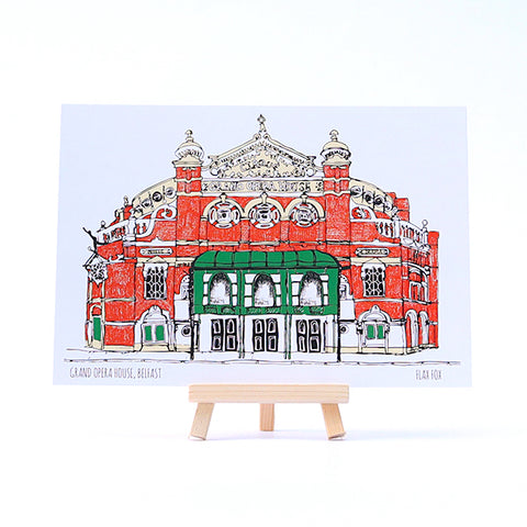 Picture of Grand Opera House Belfast Postcard