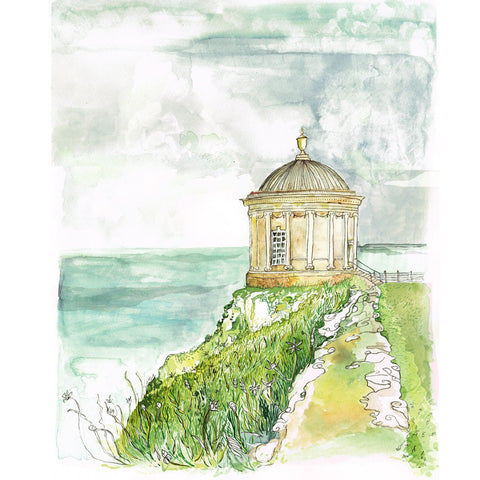 Picture of Mussenden Temple Giclée Print