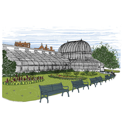 Picture of Palm House, Botanic Gardens