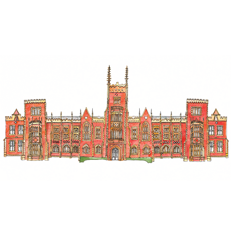 Picture of Queen's University Gicleé Print