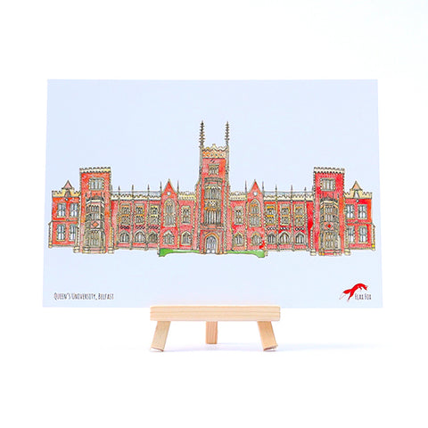 Picture of Queen's University Postcard
