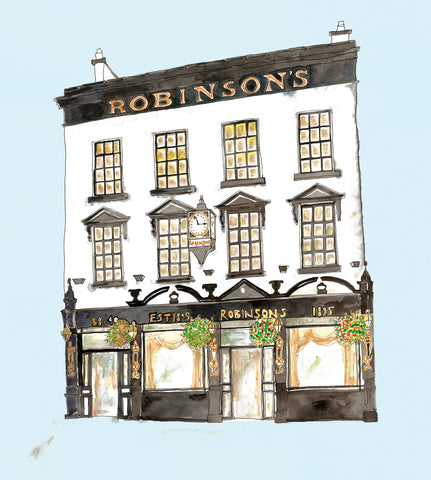 Picture of Robinsons Bar, Gicleé Print