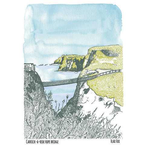 Picture of Carrick-a-rede North Coast Postcard