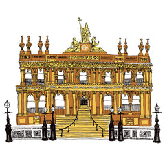 The Merchant Hotel Giclée Print