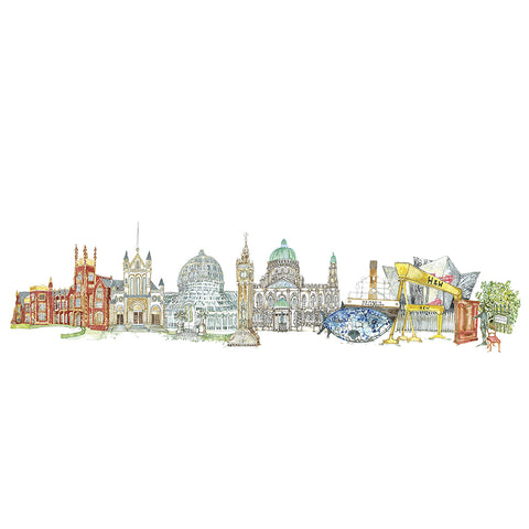 Picture of 'Belfast At It's Best' Print