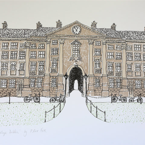 Picture of Trinity College Dublin, Gicleé Print