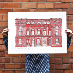 Screen Print, Belfast Central Library